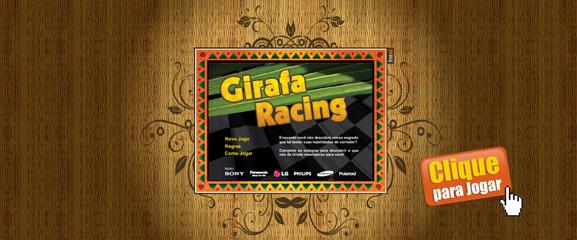 Jogo Girafa Racing