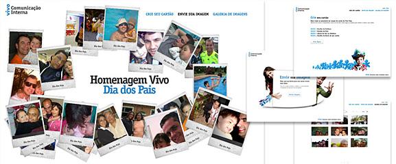 Marketing Digital Interno da Vivo em Homenagem Vivo Dia dos Pais